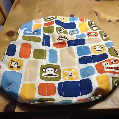 Bugaboo cameleon Paul frank fabric set Tailored apron sun canopy and seat cover