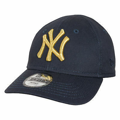 New Era Golden 9FORTY Infants New York Yankees Stretch Fit Cap