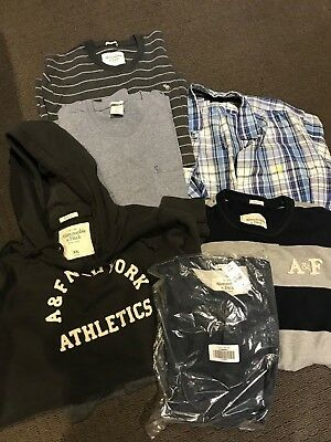 Mens clothes lot Size XL, A&F, Polo (in Excellent Condition some as new !!)