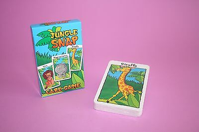 Jungle Snap  Card Game Brand New