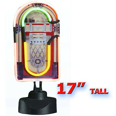 Neon Juke Box Light 17 Inch Mains Powered  Free Delivery Uk