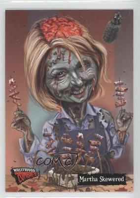 2007 Topps Hollywood Zombies #12 Martha Skewered Non-Sports Card 2u6