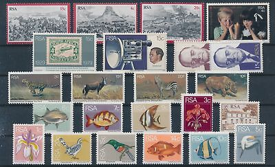 LH20341 South Africa nice lot of good stamps MNH