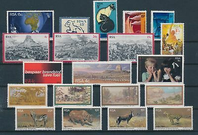 LH20345 South Africa nice lot of good stamps MNH