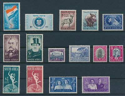 LH20346 South Africa nice lot of good stamps MNH