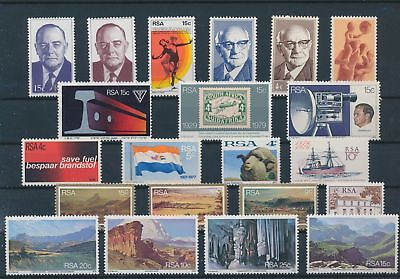 LH20350 South Africa nice lot of good stamps MNH