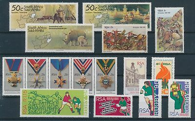 LH20353 South Africa nice lot of good stamps MNH