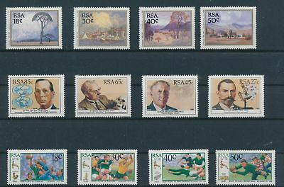 LH20357 South Africa sports personalities fine lot MNH