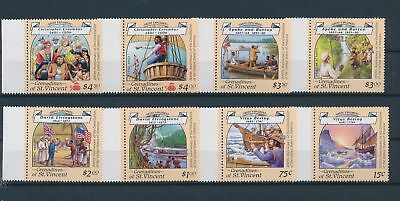 LH20371 St Vincent Christopher Columbus fine lot MNH