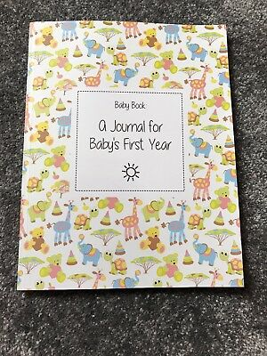 Baby book : a journal for baby's first year