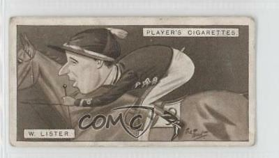 1925 Player's Racing Caricatures Tobacco Base 26 William Charles Lister Card 1m8