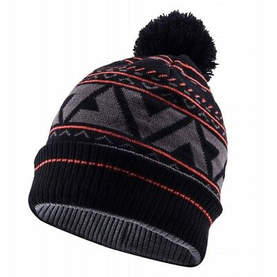 SealSkinz Waterproof Bobble Hat - Black