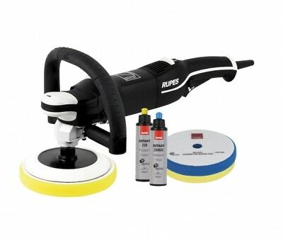 New rotary polisher Rupes LH19 E KIT STN detail body car auto Warranty 12 months