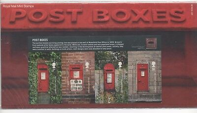 2009 GB Presentation Pack 430 - Post Boxes