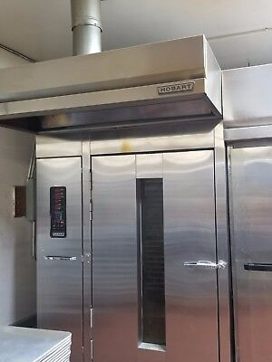 Horbart Natural Gas Rotating Commercial Bakery Rotary Single Rack Oven