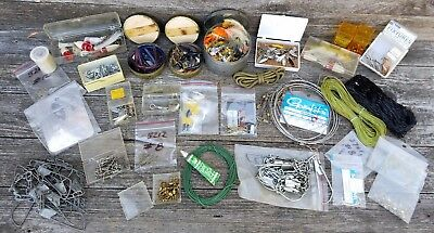 Huge Lot of Fishing Tackle & Supplies - Estate Sale Find Some Vintage Some New!
