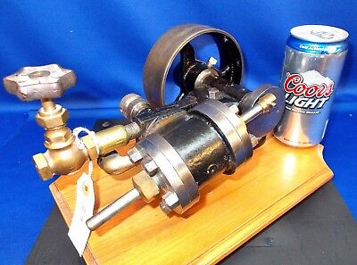 B4 ~ Early Reciprocating Steam Engine w/Pinstriping, Very Nice