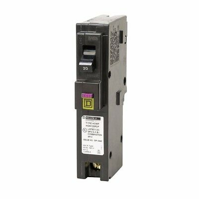 Square D HOM120PDF 20 A Combination Arc Ground Fault Breaker NEW TESTED OPENBOX