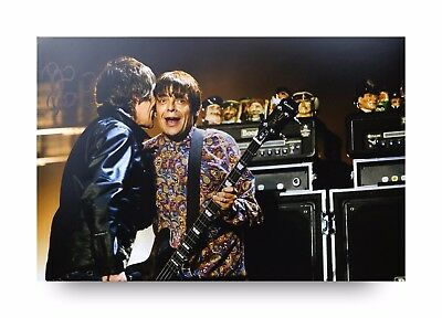 Ian Brown Signed 12x8 Photo Genuine Stone Roses Memorabilia Autograph + COA