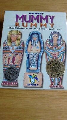 Mummy Rummy - A Game of Egyptian Treasures from Gamewright