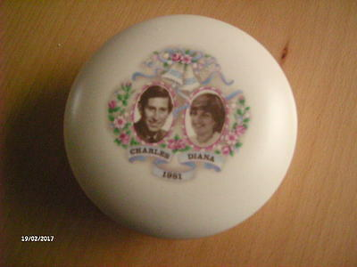 Vintage Trinket To commemorating The Wedding Of Prince Charles & Lady Diana.
