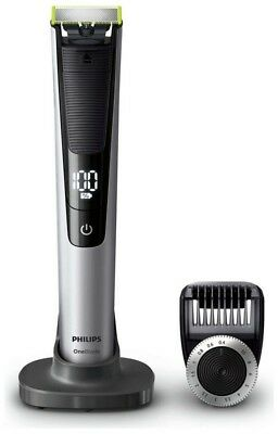 Philips Wet Dry One Blade Mens Pro Trim Edge Shave Cordless Multi Groomer Grey