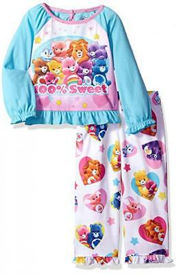 3c9ad8cc CARE BEARS TODDLER Girls 4-piece Cotton Pajamas Set Size 4T NWT ...