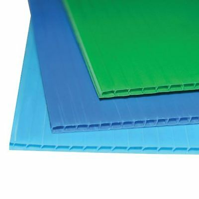 Lastra Polionda Mm 2,2 Plastica Ondulata 10 Lastre Cm 50X70 In Colori Assortiti