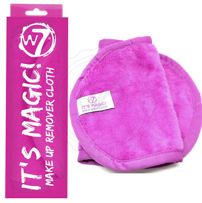 W7 Its Magic Make up Remover Cloth - Cosmetics Cleansing Beauty Face Beauty Wipe