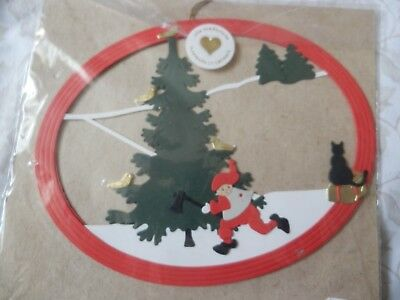 ODA CUTS WIEDBRECHT PAPER MOBILE HANDMADE IN DENMARK DECORATION NEW Christmas