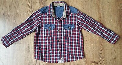 Boys George Trendy Checked Shirt Age 18-24 Months