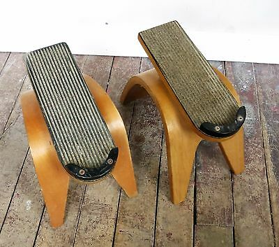 Pair of Vintage Thonet Bentwood Shoe stands or Displays