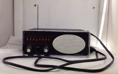 Vintage Bearcat Receiver Bc Iii 8 Channels Scanner With 8 Crystals