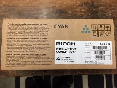 Ricoh Print Cartridge Mp C7500E Cyan