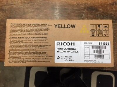 Ricoh Print Cartridge Mp C7500E Yellow