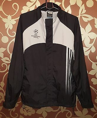"""Adidas Football Jacket """"UEFA Champions League"""", Official Product, Size S"""