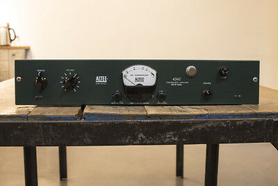Altec 436C Compressor Amplifier Mod Into Emi Rs-124