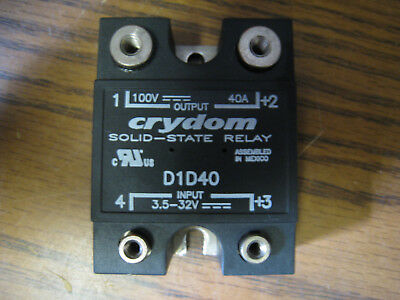 Crydom D1D40 Solid State Relay 3.5-32Vdc 40A