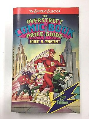Overstreet Comic Book Price Guide #23 Copyright 1992, 1993 Very Good