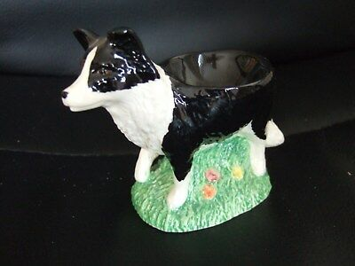 Border Fine Arts James Herriot Border Collie Dog Egg Cup A5042 VGC
