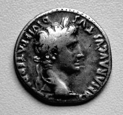 Augustus 27BC-14AD  AR Denarius  (R51)   Sought after coin at reasonable cost.