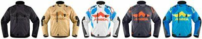 Icon Mens Raiden DKR Armored Waterproof Textile Motorcycle Riding Jacket