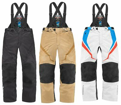 Icon Mens Raiden DKR Armored Waterproof Textile Motorcycle Overpants 2015