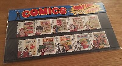 Royal Mail Comic Book Stamps Presentation Pack 469 Beano Dandy Buster