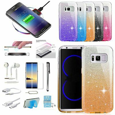 Case Qi Wireless Charger Pad Accessory For Samsung Galaxy S7 Edge S8 S8+ Note 8