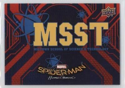 2017 Upper Deck Spider-Man Homecoming Wal-Mart Exclusive #RB-7 Card 2o7