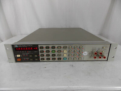 Hp Agilent 3456A Digital Voltmeter