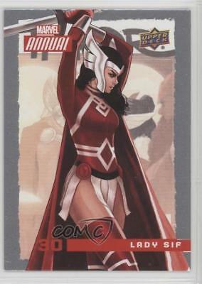 2016 Upper Deck Marvel Annual #30 Lady Sif Non-Sports Card 0p3