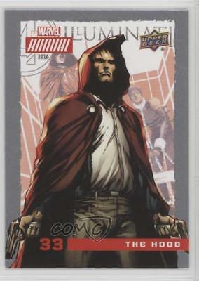 2016 Upper Deck Marvel Annual #33 The Hood Non-Sports Card 0p3