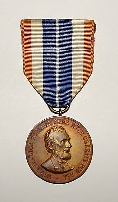 US AMERICAN CIVIL WAR ARMY CAMPAIGN MEDAL 1920's VINTAGE BY STUDLEY MFG.